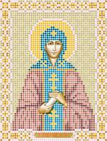 Атлас с нанесенным рисунком «Святая Анна Кашинская»