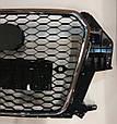 Радиаторная решетка Audi Q3 в стиле RS Q3 2012, фото 3