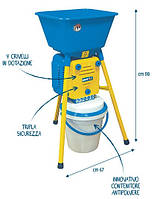 Мукомолка Novital Golia 4V мельница для кукурузы, пшеницы, ржи, риса, специй, кофе, сахарной пудры