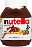 Шоколадно-ореховая паста NUTELLA с лесными орехами 950г (шт.), фото 1
