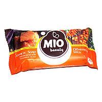 Мыло туалетное косметическое Mio Beauty 90г облепиха и мёд