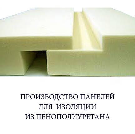 Плита пенополиуретановая (панель ППУ) 1200 х 600 х 40 мм, фото 2