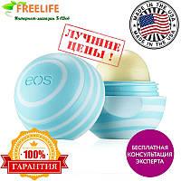 EOS, Visibly Soft, бальзам для губ, ваниль и мята, .25 унции(7 г)