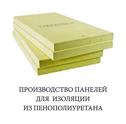 Плита пенополиуретановая (панель ППУ) 600 х 600 х 40 мм, фото 2
