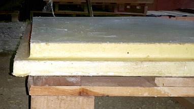 Плита пенополиуретановая (панель ППУ) 600 х 600 х 50 мм, фото 2
