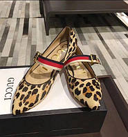Туфли леопардовые Gucci