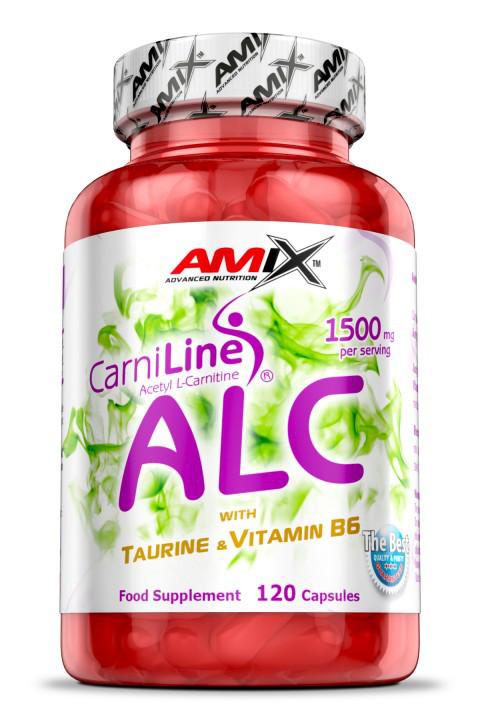 AMIX ALC with Taurine 120 caps