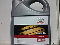 Масло TOYOTA 5W-40 Synthetic (5 литров)