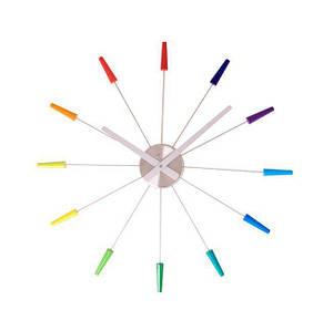 Настенные Часы Plug Inn многоцветный
