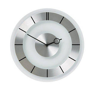 Настенные Часы Ретро серебряный