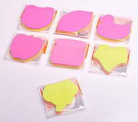 Стікер-блок: фігурний, 100 аркушів, 5 кольорів, в асортименті