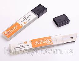 Лезвия для канцелярских ножей, 18 мм, 10 шт.