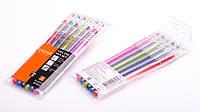 Набір ручок гелевих, 6 кольорів