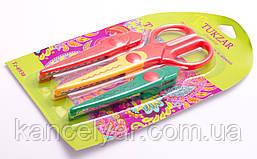 Ножницы с фигурными сменными лезвиями, 3 в 1