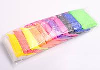 Пластилінове тісто: крупинки, 12 кольорів + інструменти