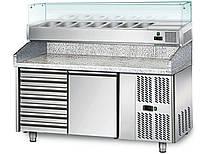 Охлаждающий стол для пиццы  POS158SN#AGS154N GGM