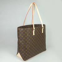 Женская сумка Louis Vuitton Monogram Canvas Cabas Mezzo