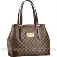 b9552e611544 Женская сумка Louis Vuitton Damier Ebene Canvas Hampstead MM - Онлайн  магазин «Modnie Sumki»