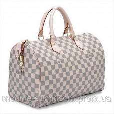 373aa4fc8fc9 Сумка Louis Vuitton Damier Azur Canvas Speedy 35 - Онлайн магазин «Modnie  Sumki» в