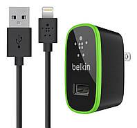 Сетевое зарядное устройство (СЗУ) Belkin home charger USB + Lightning cable (2.1A)