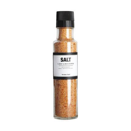Соль с чесноком и чили с młynkiem Nicolas Vahe, фото 2