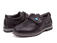 Туфли детские для мальчиков  (27-32) EeBb-E-1357-black
