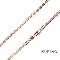 Цепочка Xuping, плетение Квадрат L-51см s-3мм цвет золото