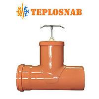 Задвижка шиберная канализационная 110 Мпласт