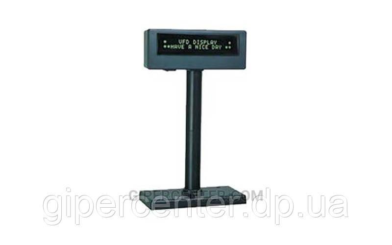 Дисплей покупателя SPARK-PD-2001.2S (RS-232), черный