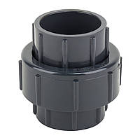 Муфта ПВХ ERA разборная клей-клей диаметр 63 мм
