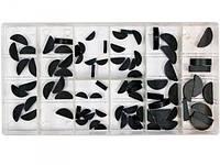 Шпонки полукруглые  различных размеров  набор 80 шт.