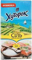 Соль морская пищевая, помел № 0,  500 гр
