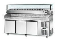 Охлаждающий стол для пиццы POS208N#AGS203L GGM