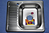Кухонная мойка 580*480*180 MIRA Premium декор правая