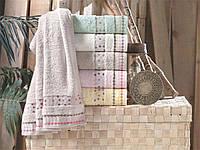 Набор бамбуковых  полотенец банных 70х140 Pupilla hercai