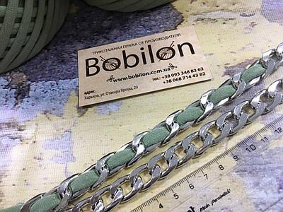 Цепочка для сумки, цвет серебро, размер 3х18х13мм
