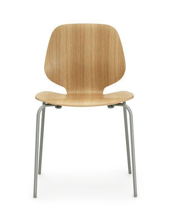 Стул My Chair дуб серые ноги