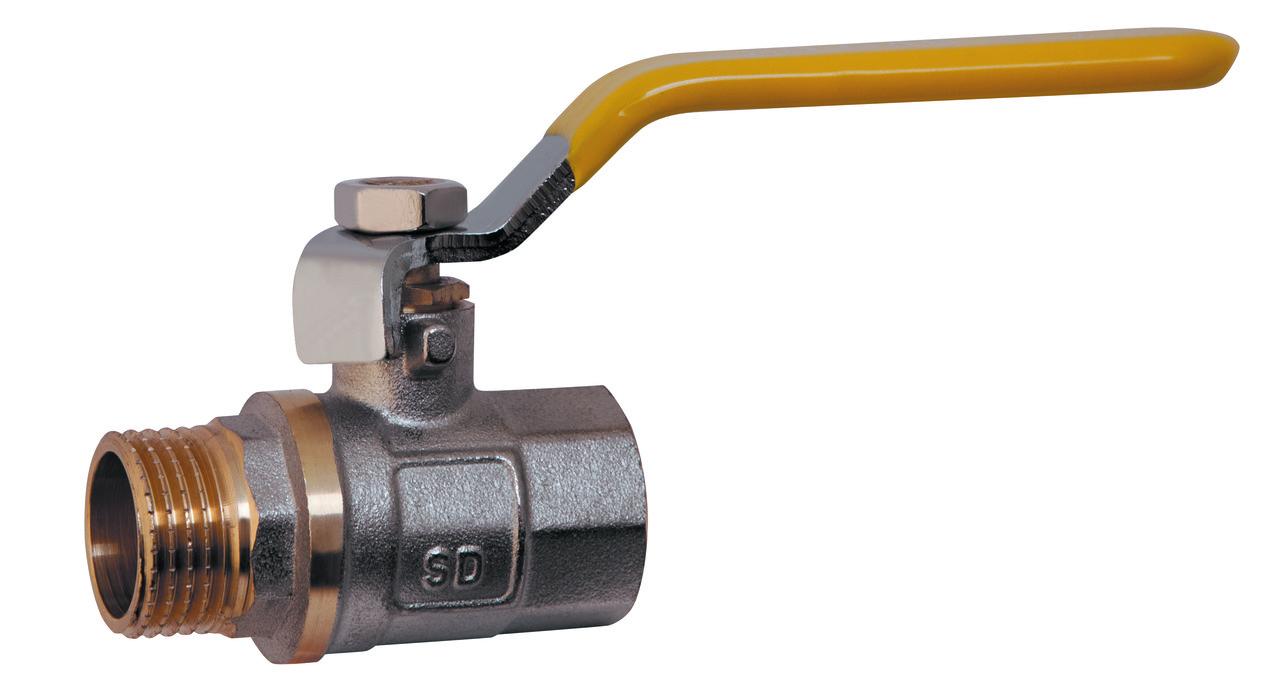 SD шаровый кран 1/2 РГШ газ PN25 ручка SD605G15