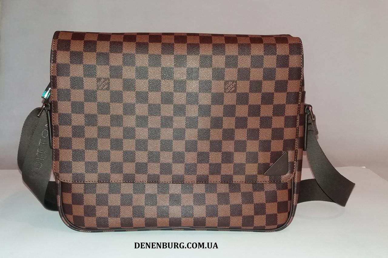 f9715be2fb2a Сумка мужская LOUIS VUITTON 41148 коричневая, серая: продажа, цена в ...