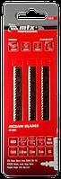 Полотно для е/л по дереву, Т101В, 75x2,5 мм, 3 шт // МТХ