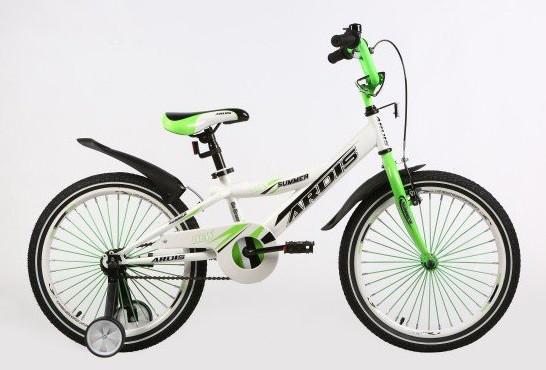 "Дитячий велосипед ARDIS SUMMER 20"" Білий/Салатовий"