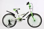 """Детский велосипед ARDIS SUMMER 20""""  Белый/Салатовый"""