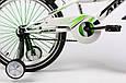 """Детский велосипед ARDIS SUMMER 20""""  Белый/Салатовый, фото 5"""