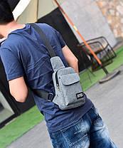 Не большая мужская сумка на плечо , фото 3