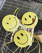 Милая сумочка смайл, улыбка, фото 3