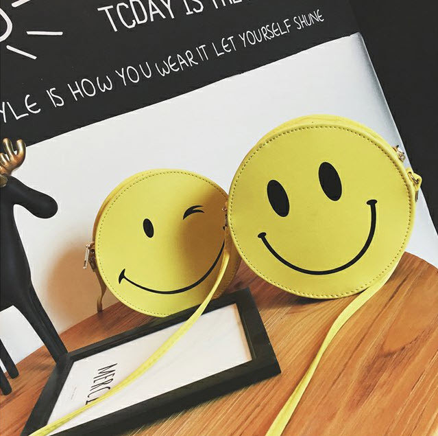 Милая сумочка смайл, улыбка