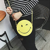 Милая сумочка смайл, улыбка, фото 2