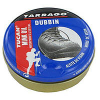 Крем-пропитка для гладкой кожи, жированного нубука и кожи Tarrago Tucan Mink Oil 100 мл бесцветный