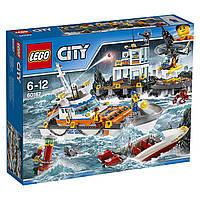 Конструктор LEGO City Штаб береговой охраны Coast Guard Head Quarters 60167