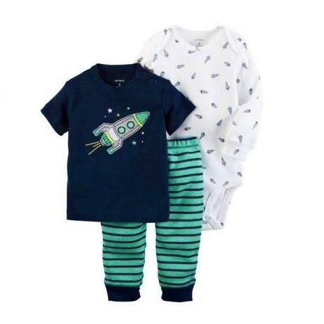 Комплект одежды Carters с аппликацией Ракета